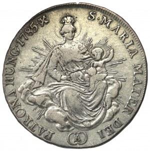 Węgry, Józef II, 1/2 Talara 1785, Kremnica
