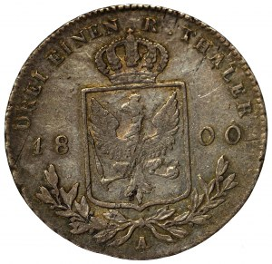 Niemcy, Prusy, Fryderyk Wilhelm III, 1/3 talara 1800 A, Berlin