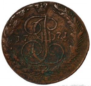 Rosja, Katarzyna II, 5 kopiejek 1771
