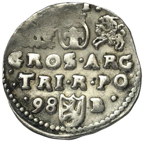 Zygmunt III Waza, Trojak 1598, Bydgoszcz