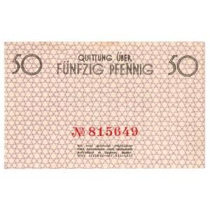 Getto w Łodzi, 50 fenigów 1940