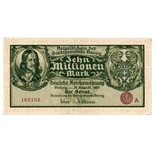 WMG , 10 mln Marek 31.08.1923