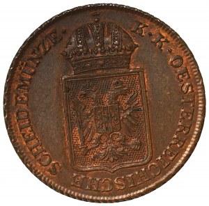 Austria, 2 kreuzer 1848