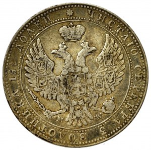 Poland under Russia, Nicholas I, 3/4 rouble=5 zloty 1840 MW