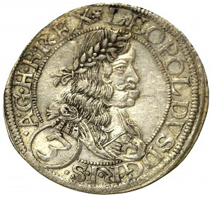 Austria-Hungary, 3 kreuzer 1665