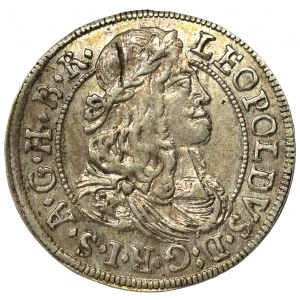 Austria, Leopold I, 3 kreuzer 1682, Hall