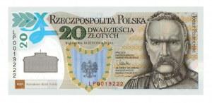 III RP, 20 złotych 2014 Piłsudski