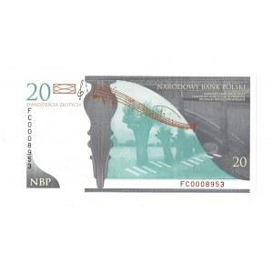 III RP, 20 złotych 2010 - Fryderyk Chopin