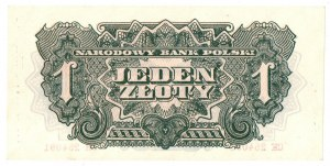 PRL, 1 złoty 1944 CH - obowiązkowym