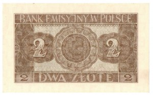 Generalne Gubernatorstwo, 2 złote 1941 AD