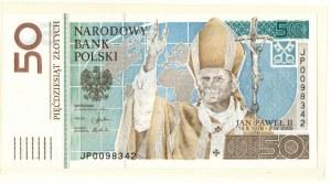 III RP, 50 złotych 2006 Jan Paweł II