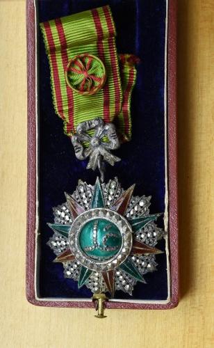 Tunezja, Order Nichan Iftikhar 1882-1902 Ali-Bey