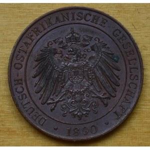 Niemiecka Afryka Wschodnia, 1 pesa 1890, Berlin