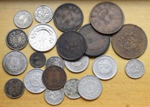 Chiny, zestaw monet
