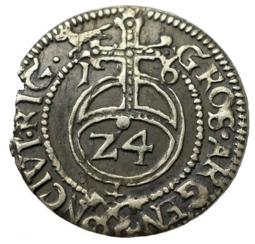 Zygmunt III Waza, Grosz 1616, Ryga