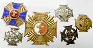 PRL, Zestaw odznak harcerskich