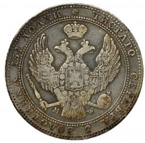 Poland under Russia, Nicholas I, 3/4 rouble=5 zloty 1840 MW