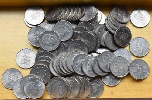 PRL, Bolesław Prus zestaw monet - 84 egzemplarze