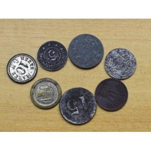 Polska/Niemcy, zestaw monet zastępczych
