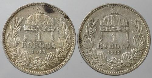 Hungary, set of 1 kronen