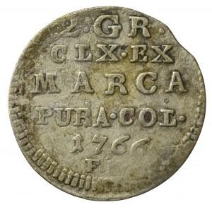 Stanislaus Augustus, 2 groschen 1766