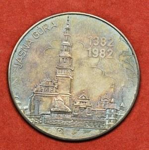 PRL, Medal Jan Paweł II Jasna Góra Srebro