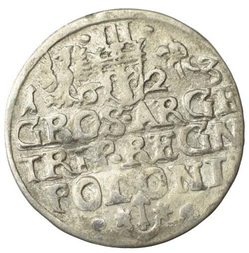 Zygmunt III Waza, Trojak 1623, Kraków