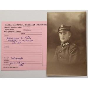 II RP, Fotografia szeregowego 9 Pułku Piechoty z kolekcji I. Banaszkiewicza