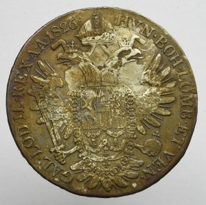 Austria, Franz I, Half thaler 1826 B, Kremnitz