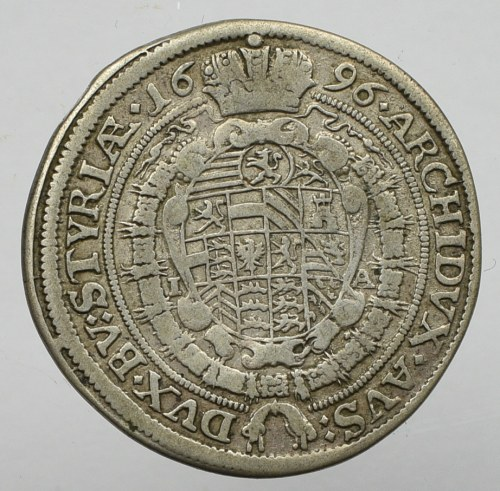 Austria, 15 kreuzer 1696