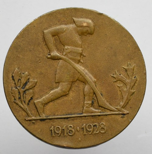 II RP, Medal Dziesięciolecia Odzyskanej Niepodległości, 1928
