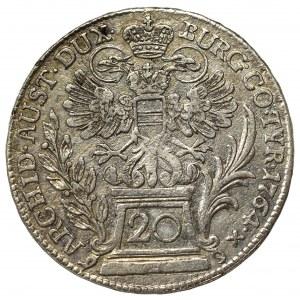 Hungary, Maria Teresa, 20 kreuzer 1764