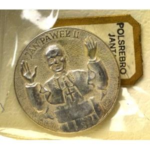 PRL, Medal Jan Paweł II srebro Jantar Sopot