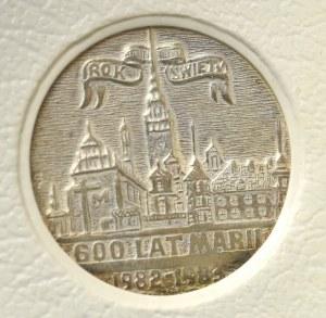 PRL, Medal Jan Paweł II, srebro Jantar Sopot