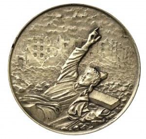 PRL, Medal 40-lecie Powstania Warszawskiego srebro