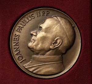 Czechy, medal- Jan Paweł II