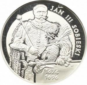 III RP, 10 złotych 2001 Jan III Sobieski