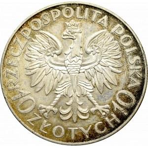 II Rzeczpospolita, 10 złotych 1933 Sobieski