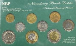 III RP, zestaw - monety obiegowe