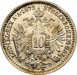 Austria, 10 Kreuzer 1872