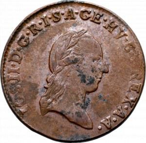 Austria, 1 kreuzer 1790 S