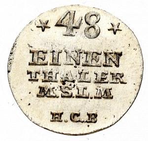 Niemcy, Adolf Fryderyk IV, 1/48 talara