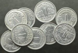 Francja, Zestaw 1 frank 1941-49