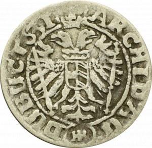 Śląsk pod panowaniem Habsburgów, 3 krajcary 1631, Wrocław