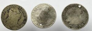Niemcy/Polska, Zestaw monet w tym ort 1617, Gdańsk