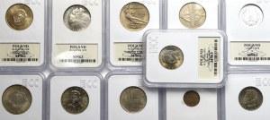 PRL, Zestaw monet obiegowych