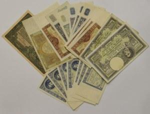 II RP, Zestaw banknotów