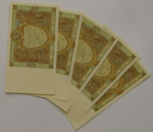 II RP, Zestaw 50 złotych 1929