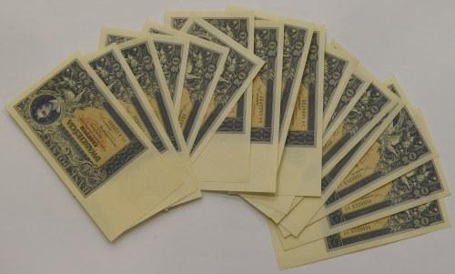 II RP, Zestaw 20 złotych 1931