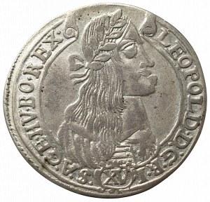 Hungary, Leopold I, 15 kreuzer 1675 KB